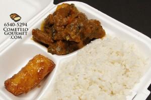 Estofado de carne y arroz blanco - Cometelo Gourmet