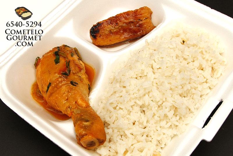 arroz con pollo guisado