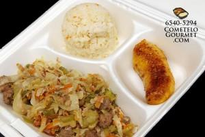 Chopsuey de tocino - Cometelo Gourmet