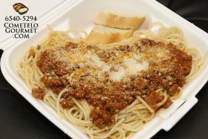 Espaguiti bolonesa - Cometelo Gourmet