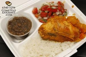 Pollo guisado - Cometelo Gourmet