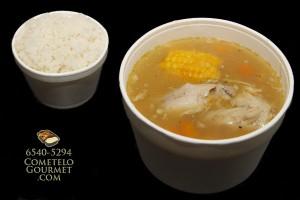 Sopa de pollo para el alma - Cometelo Gourmet