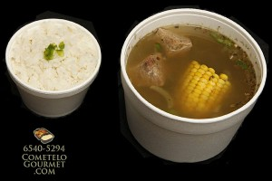 Sopa de lentejas y carne para la abundancia - Cometelo Gourmet